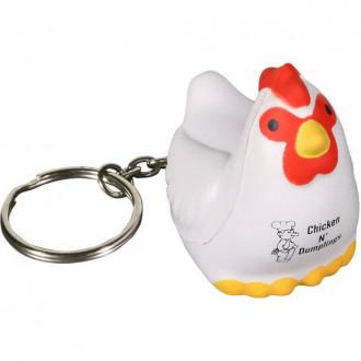 Chicken Key Chains Stress Relievers