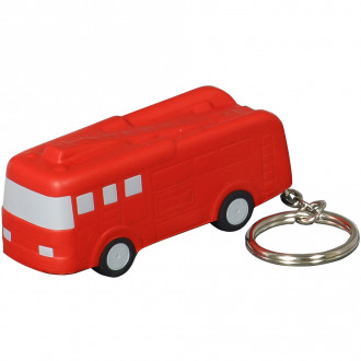 Fire Truck Key Chains Stress Relievers