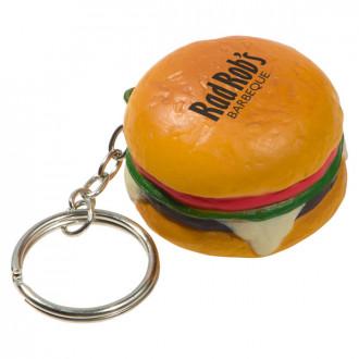 Hamburger Key Chains Stress Relievers