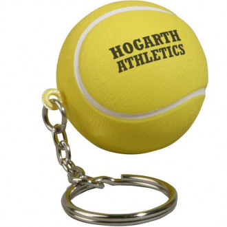 Tennis Ball Key Chains Stress Relievers