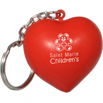 Valentine Heart Key Chains Stress Relievers