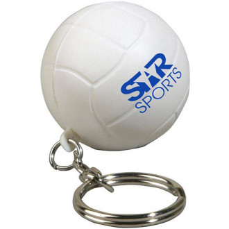 Volleyball Key Chains Stress Relievers