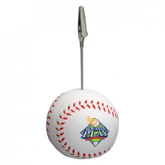 Baseball Memo Holder Stress Relievers