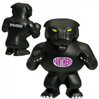 Panther Mascot Stress Relievers