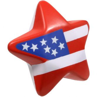 Patriotic Star Stress Relievers