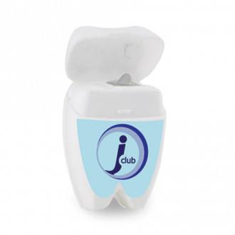 Tooth Shaped Dental Floss