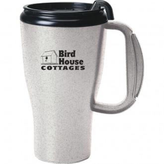 16 Ounce Omega Mugs With Slider Lid