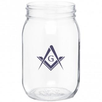16 oz. Glasses Mason Jar