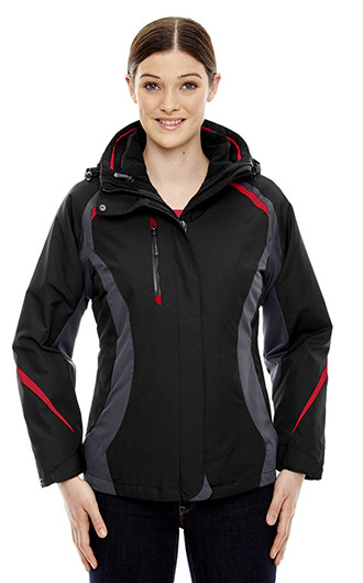 Height Women's 3-in-1 Jackets with Insulated Liner