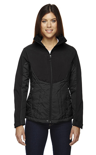 Innovate Women's Hybrid Insulated Soft Shell Jackets