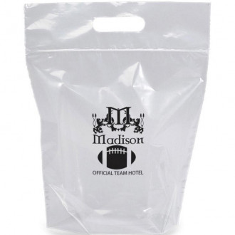 NFL Approved Zip-Close Clear Plastic Bags