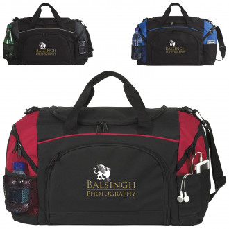 Perfect Score Duffel Bags