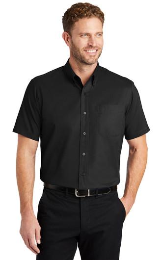 Mens Short Sleeve SuperPro Twill Shirts