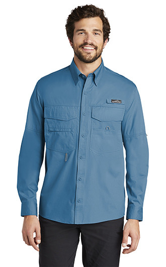 Eddie Bauer Mens Long Sleeve Fishing Shirts