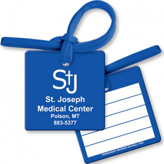 Bag & Luggage Tags - Small Square - Spot Color
