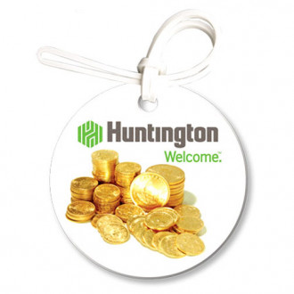 Bag & Luggage Tags - Large Round - Full Color