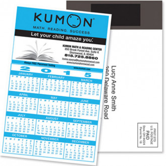Magnetic Stick-Up Card - Calendars - Full Color