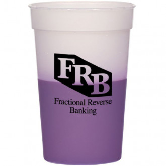 17 oz. Color Changing Stadium Cups