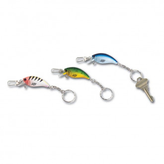 Fishing Lure Keychains with Clasp