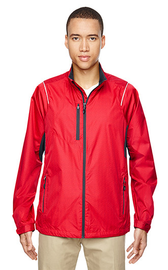 Sustain Men's Lightweight Recycled Polyester Dobby Jackets