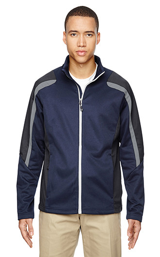 Strike Men's Color-Block Fleece Jackets