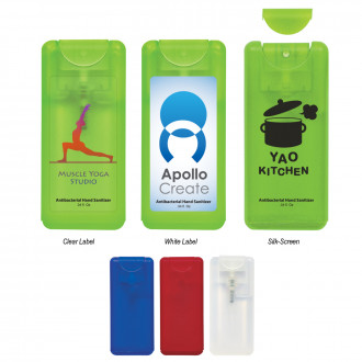 0.34 Oz. Compact Hand Sanitizer Spray
