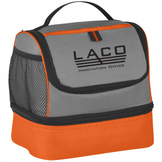 Two Compartment Lunch Pail Bags