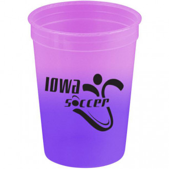 Cups-On-The-Go - 12 oz. Cool Color Changing Cups