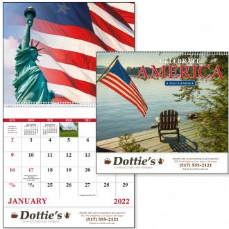 Celebrate America - Spiral Calendars