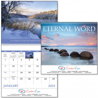 Eternal Word with Pre-Planning Sheet - Spiral Calendars