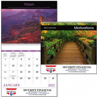 Motivation - Spiral Calendars