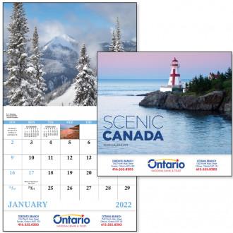 Scenic Canada - Stapled Calendars