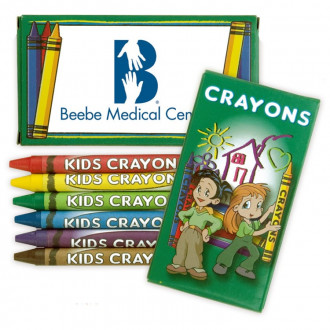 6 Packs Crayons