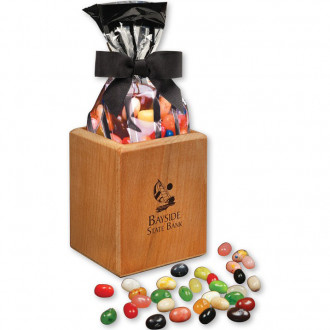 Faux Leather Pens &  Pencil Cups with JELLY BELLY Gourmet Je