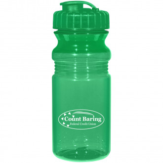 20 Oz. Frosted Fitness Bottles