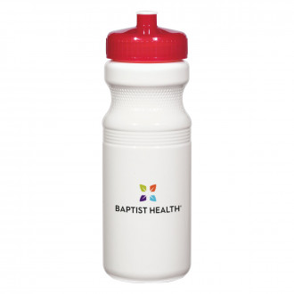 Poly-Clear 24 Oz. Fitness Bottles Full Color