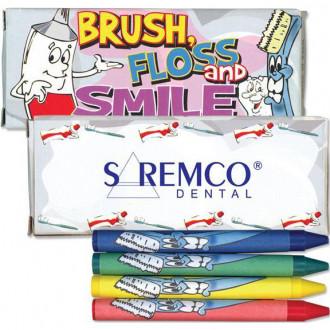4 Packs Dental Crayons