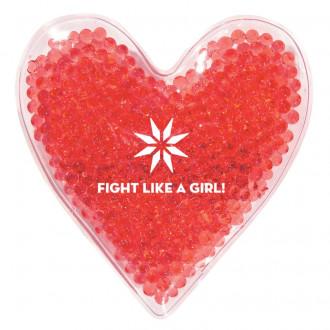 Heart Shape Gel Beads Hot/Cold Packs