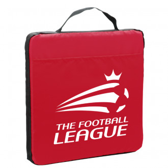 Fabric Stadium Cushion with Pocket 13.5