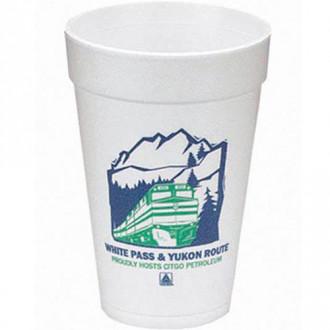 16 oz. 500 Line Foam Cups