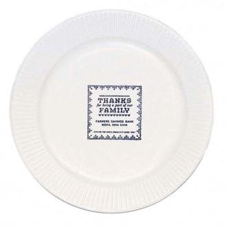 White Paper Plate, 7