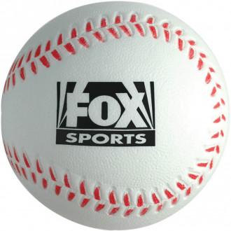 Baseball Stress Reliever White