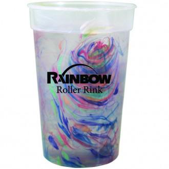 17 oz. Rainbow Confetti Mood Cups