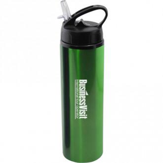 24 oz Water Bottles with Flip Top Sport Lid