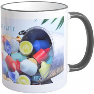 Mugs 11oz with Colored Accents - Full Color