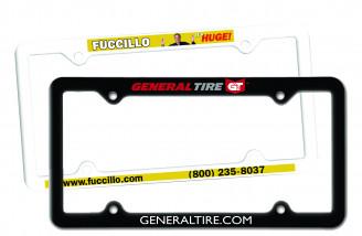 Thin Panel License Plate Frame Full Color Digital