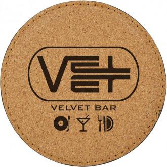 Cork'n Velvet Coasters