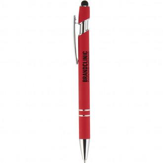 Granada Velvet-Touch Aluminum Stylus Pens