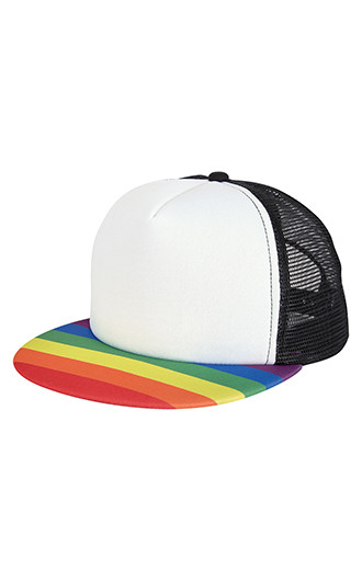 Rainbow Trucker Caps
