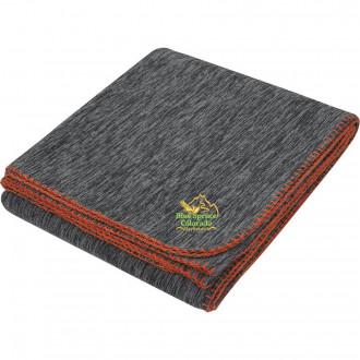 Color Splash Heathered Blankets